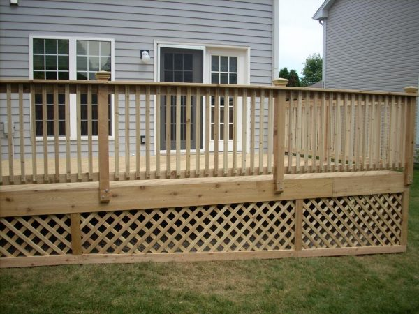 looking Pictures Of Deck Latticedeck Design And Ideas