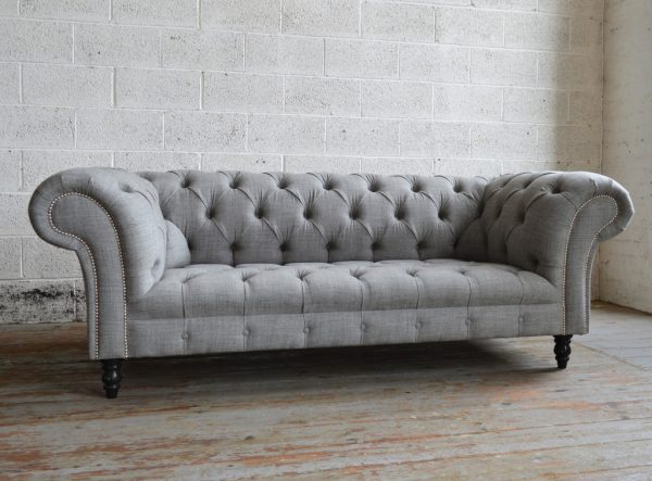 Looking Romford Wool Chesterfield Sofaabode Sofas Medium