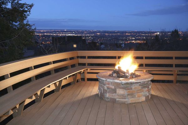 Looking Small Deck Fire Pitdeck Design And Ideas Medium