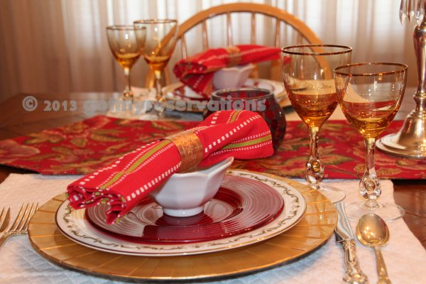 Looking Tablescape Thursday A Nice Italian Red Got My Reservations Medium