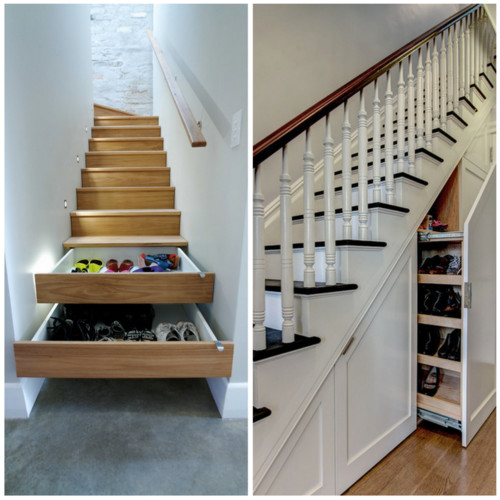 Looking This Or That  Understair Shoe Storage Medium