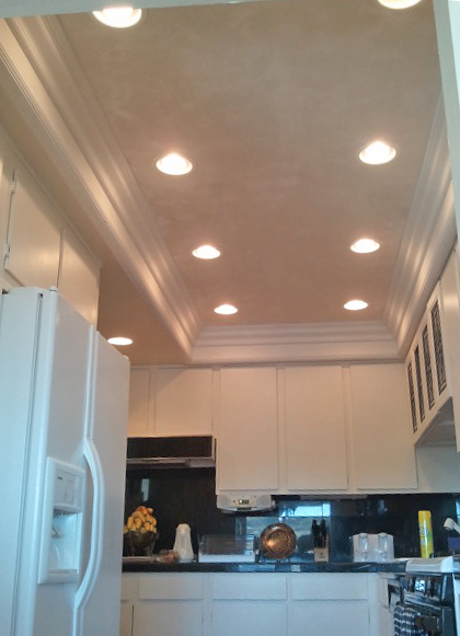 miscellaneous recessed lights in kitchen   interior