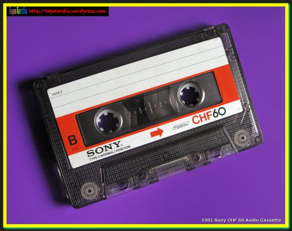 Our Favorite 1981 Sony Chf 60 Audio Cassettetape Tardis Medium