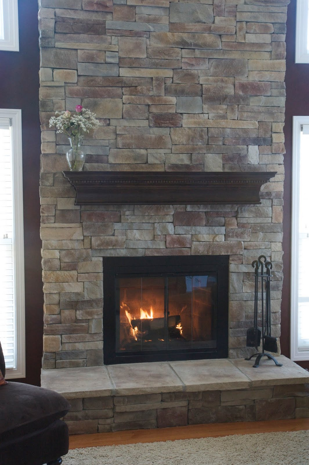 our favorite 25 interior stone fireplace designs