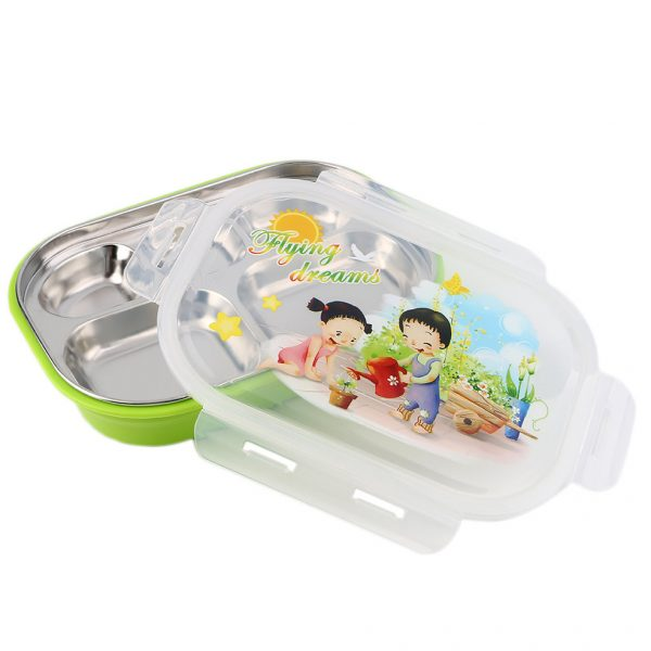Our Favorite 5 Layers Children Thermos Bento Lunch Box Food Fruit Medium