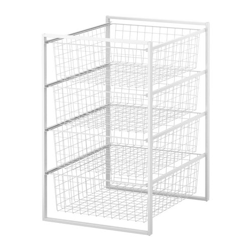 Our Favorite Antonius Frame And Wire Baskets Ikea Medium