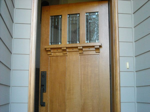 Our favorite Arts And Crafts Front Door By Pintodeluxe Lumberjocks
