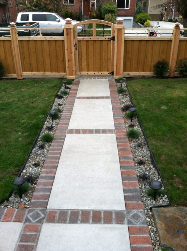 Our Favorite Brick And Concrete Walkwaydesign Ideas For Your Medium