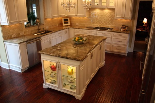 Our Favorite Custom Kitchen Island Traditional Kitchen Cleveland Medium