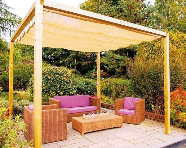 Our Favorite Diy Canopies And Sun Shades For Your Backyard Medium