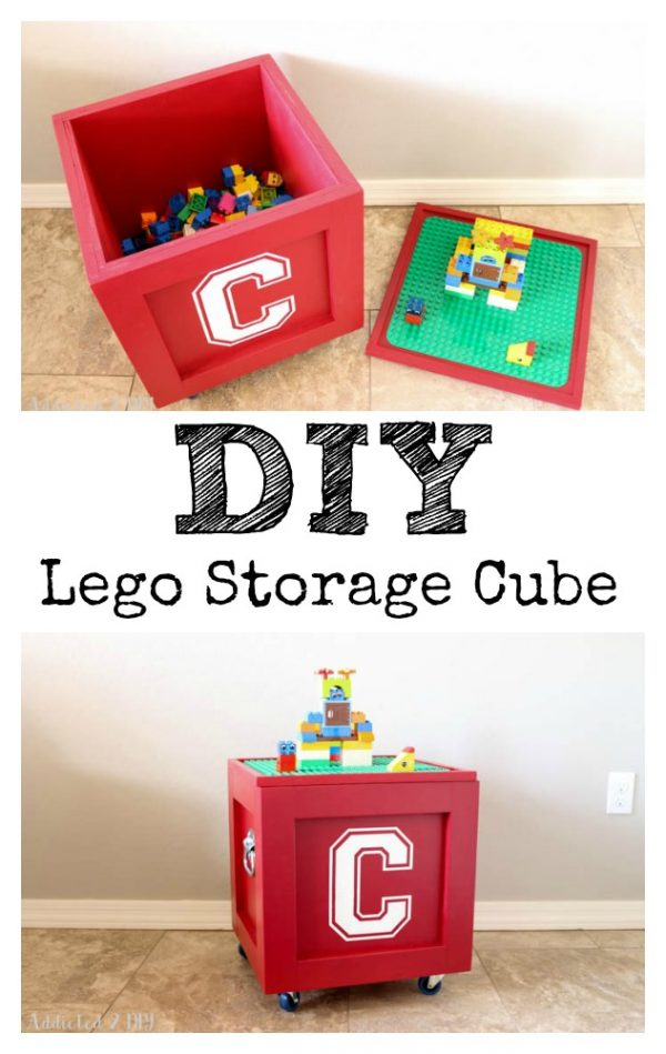 Our favorite Diy Lego Storage Cube Plus A Giveaway    Addicted 2 Diy