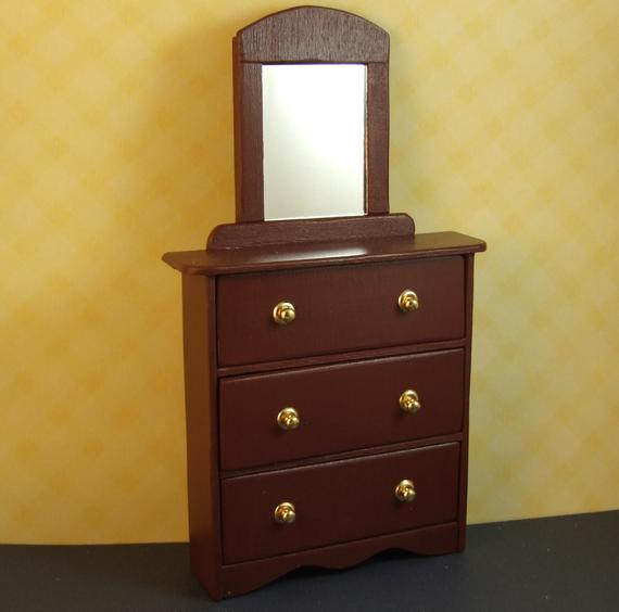 Our Favorite Dresser With Mirror For Hitty Or Small Doll Furniture Medium