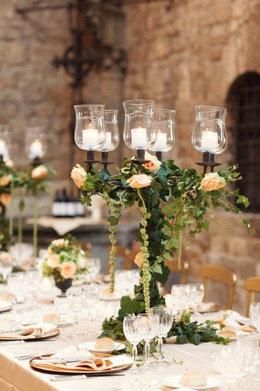 Our Favorite Elegant Wedding Tablescapewedding Centre Pieces And Tables Medium