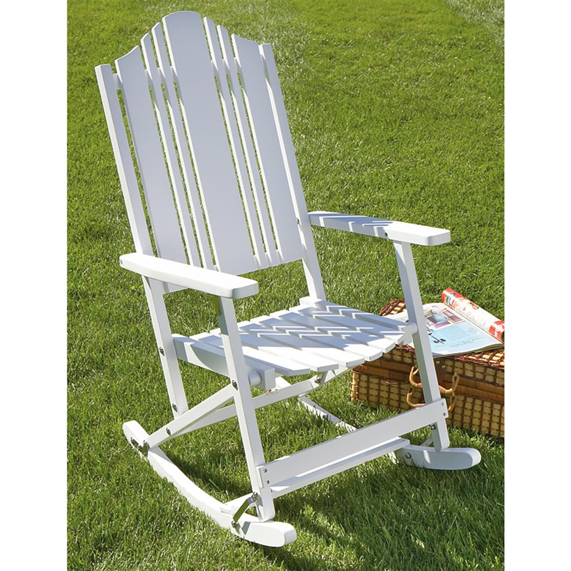 our favorite folding solid wood outdoor rocking chair 149824 patio