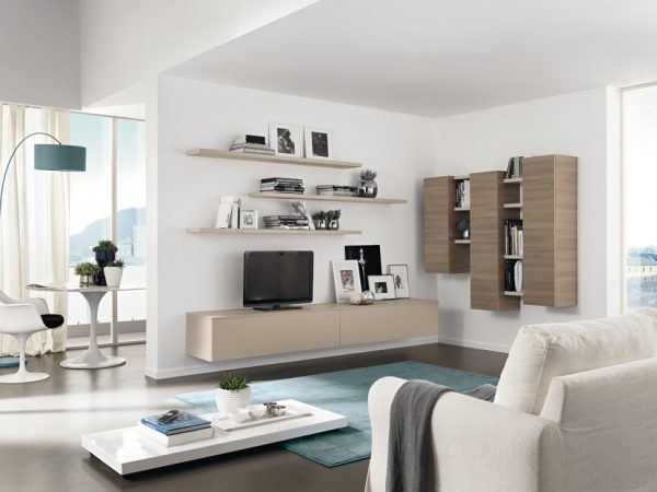 Our Favorite Modern Living Room Wall Units With Storage Inspiration Medium