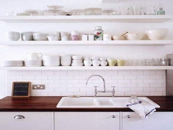 Our Favorite Open Kitchen Wall Shelving Ideashome Interior Design Medium