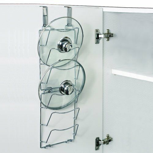Our Favorite Over Door Pan Lid Storage Racks Saucepans Lid Holder Medium