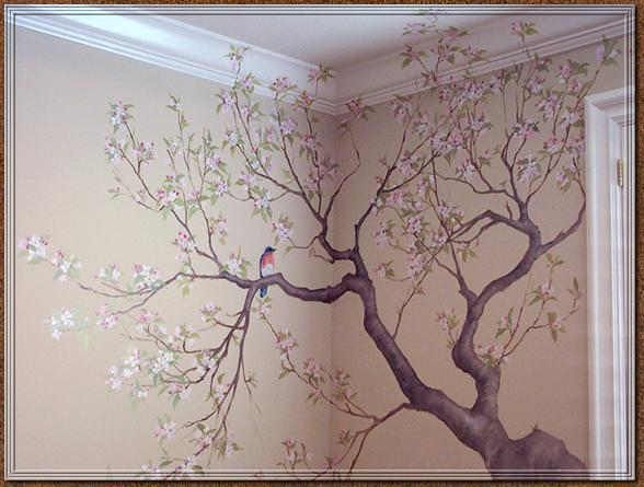 Our Favorite Painting A Tree Mural Home Design Medium