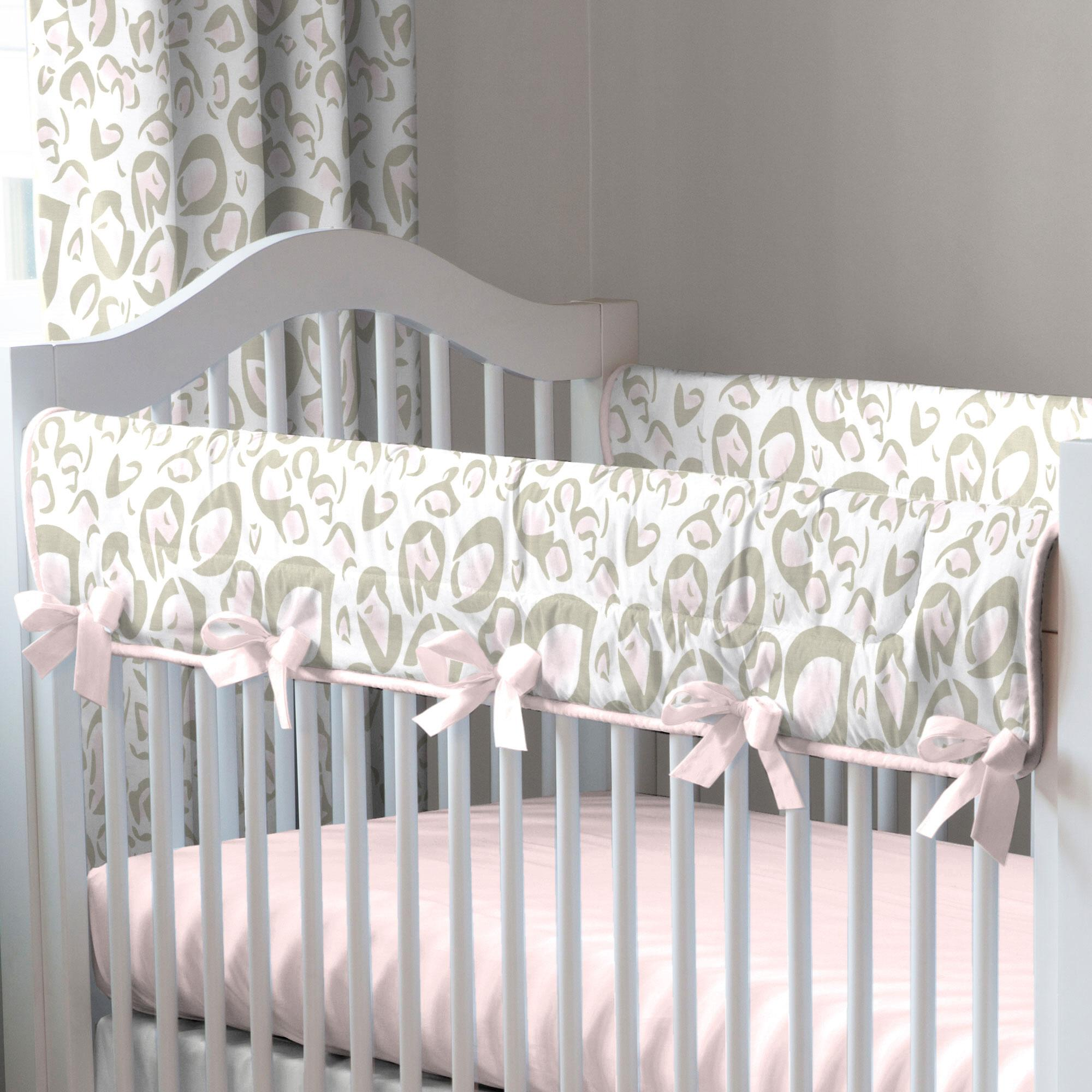 our favorite pink and taupe leopard baby bedding pink and taupe