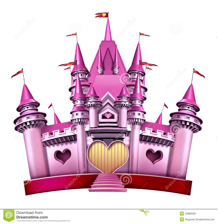 our favorite pink princess castle stock illustration illustration of