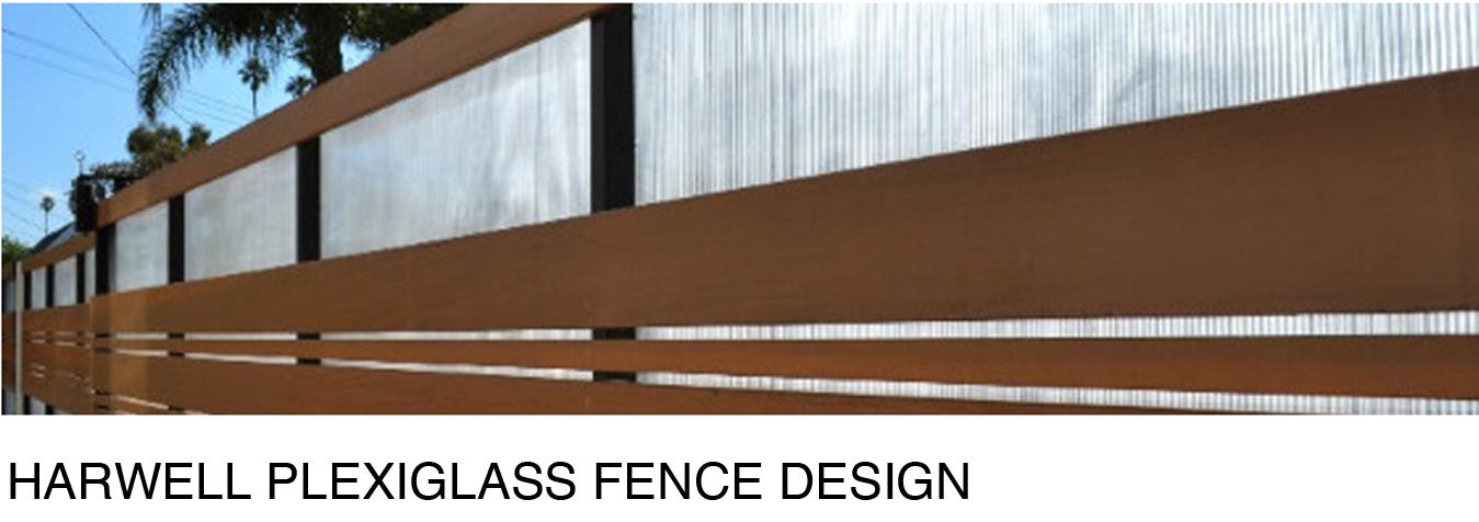 our favorite plexiglass fence modern fence design