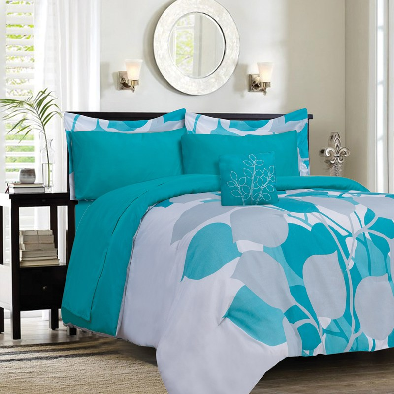 our favorite turquoise comforter setshomesfeed