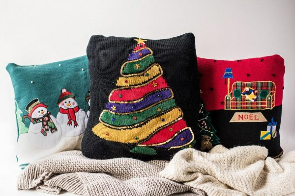 our favorite ugly christmas sweater pillow coversfavecraftscom medium
