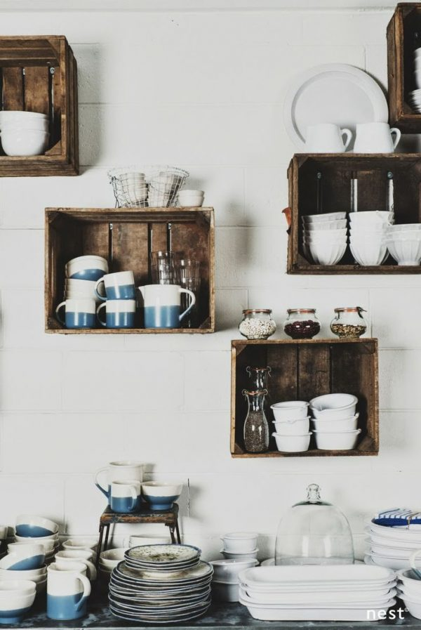 Our Favorite Wallmounted Box Shelves  A Trendy Variation On Open Shelves Medium