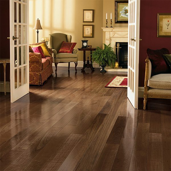 Our Favorite Walnut Solid Natural 150mm X 18mm X Random Mckay Flooring Medium