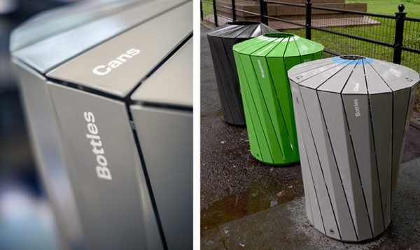 ParsonsDesigned Bins Collect More Than TrashThe New Medium