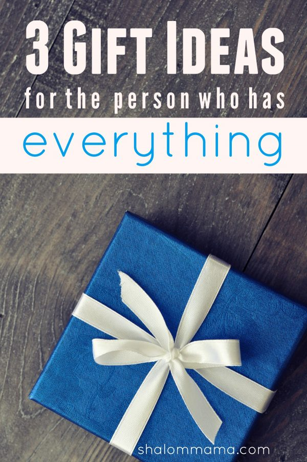 Perfect 3 Gift Ideas For The Person Who Has Everything Medium