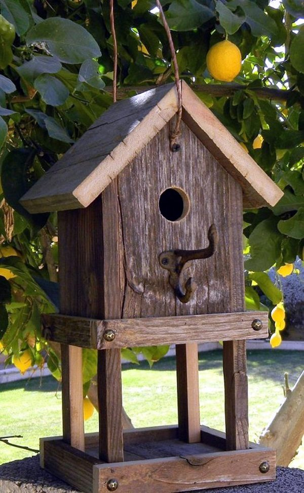 Perfect 40 Beautiful Bird House Designs You Will Fall In Love With Medium