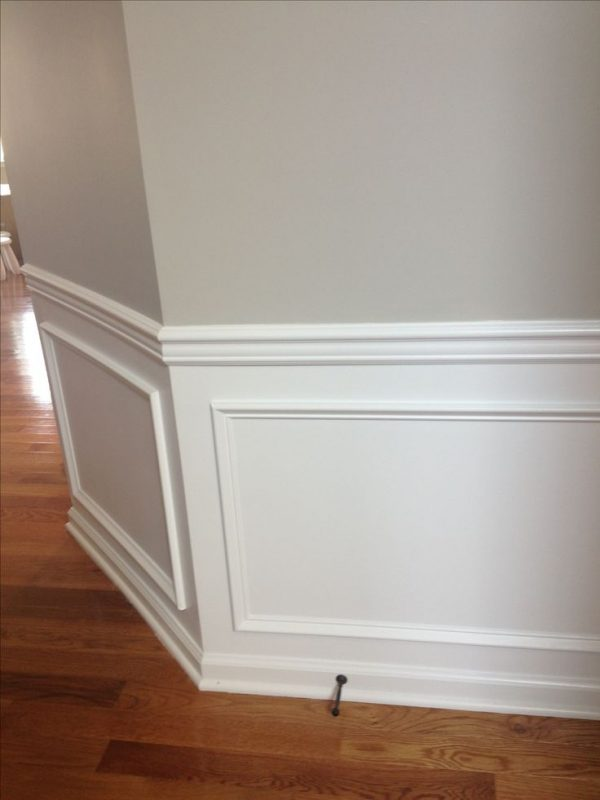 Perfect Best 25  Chair Rail Molding Ideas On Dining Medium