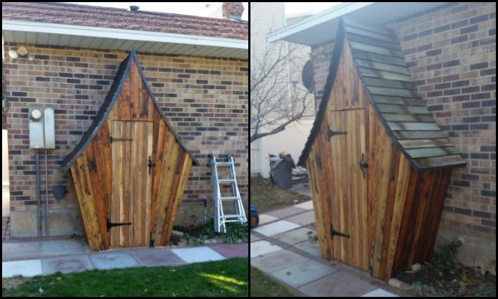 perfect build a whimsical tool shed for your gardendiy