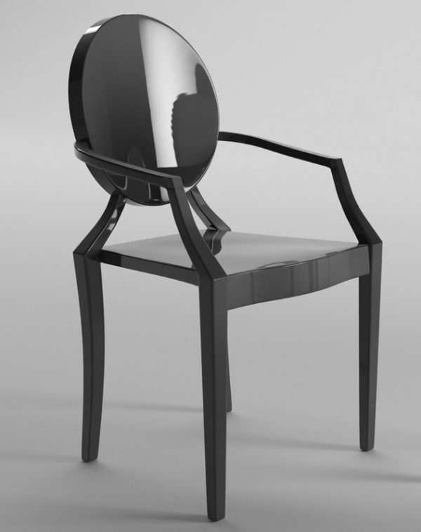 Perfect Chair Philippe Starck C4d Medium