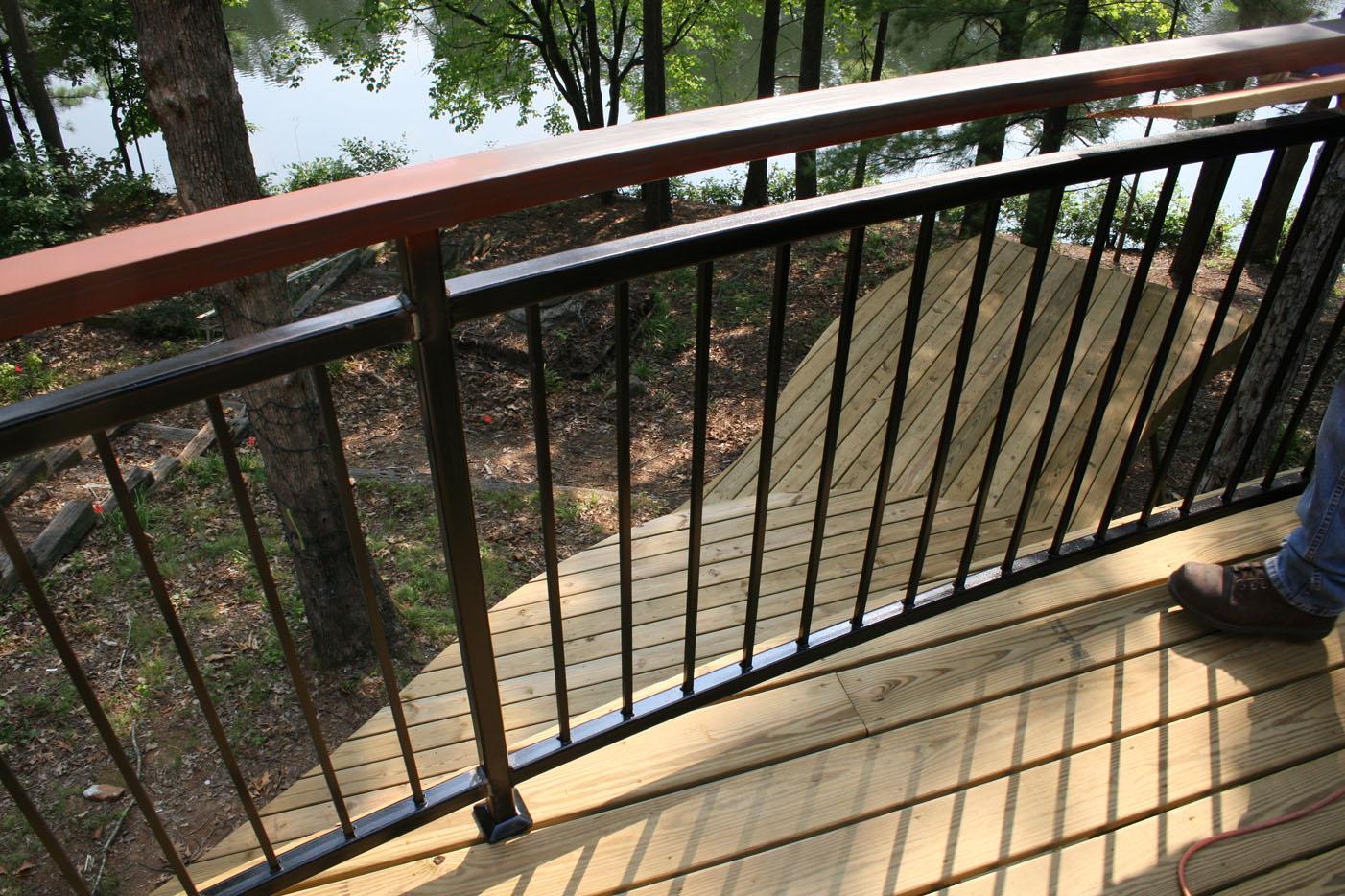 perfect custom porch railing ideasdesign   ideaschristmas