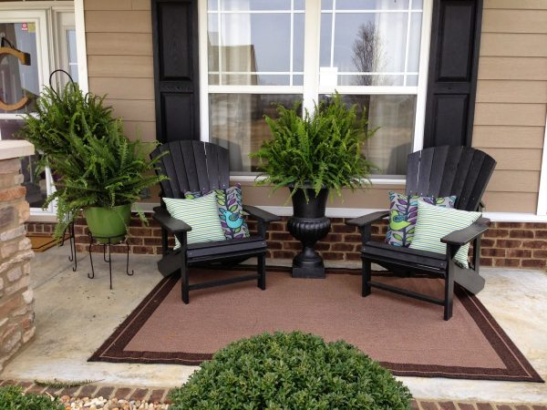 Perfect Decorating Front Porch Ideas  Bistrodre Porch And Medium