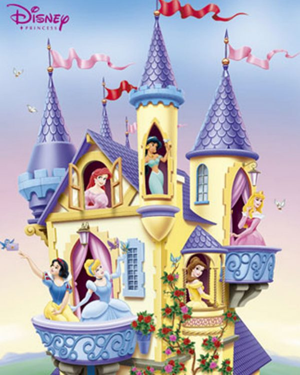 Perfect Disney Princess Castle Wallpaper Wallpapersafari Medium