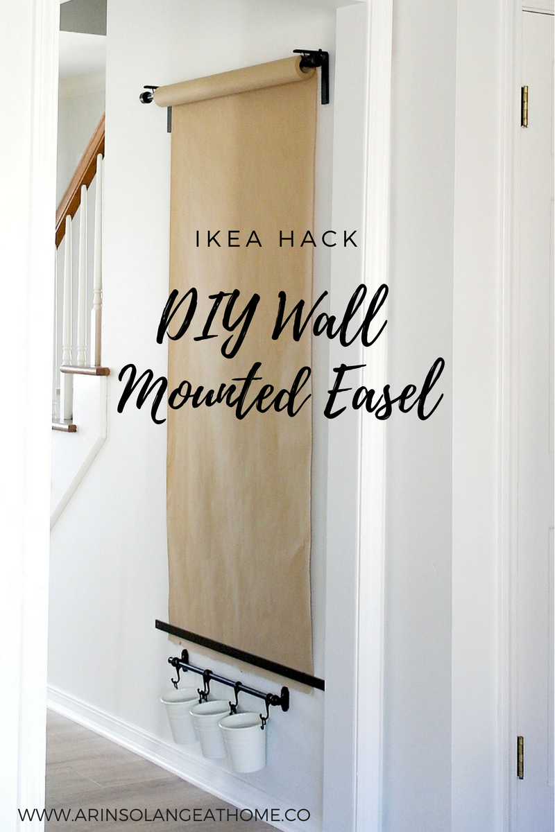perfect diy wall mounted easel arinsolangeathome