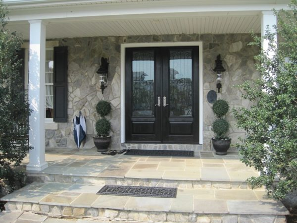 Perfect Double Front Entry Doors  Interior   Exterior Doors Design Medium