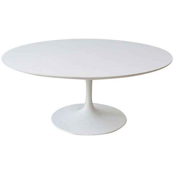 Perfect Early Knoll Tulip Base Coffee Table By Eero Saarinen Medium