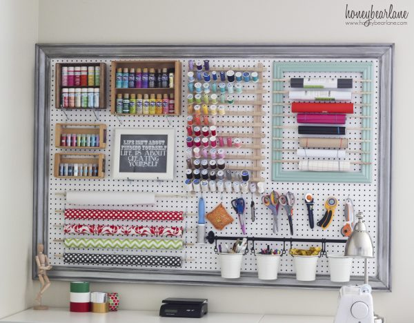 Perfect Extra Large Pegboard For Craft Room Organization Medium