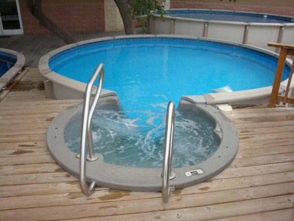 Perfect Fabulous Design For Above Ground Plunge Pool For Your Medium