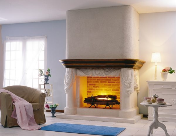 Perfect Fascinating Modern Fireplace Design For Awesome Living Medium