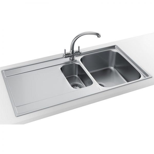 Perfect Franke Maris Slimtop Propack Mrx 251 Stainless Steel Sink Medium