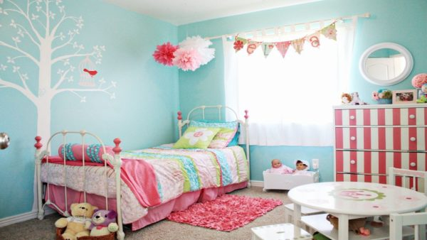 Perfect Girly Bedroom Decorating Ideas Teenage Girl Bedroom Medium