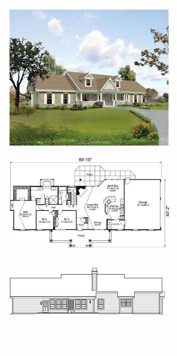Perfect Hacienda Style Home Plans Luxury 1398 Best House Plans Medium
