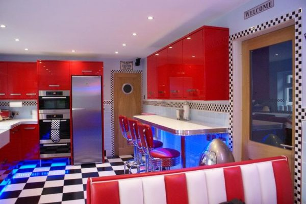 Perfect Home Kitchen 50s Diner Stylethread My Very Own Medium