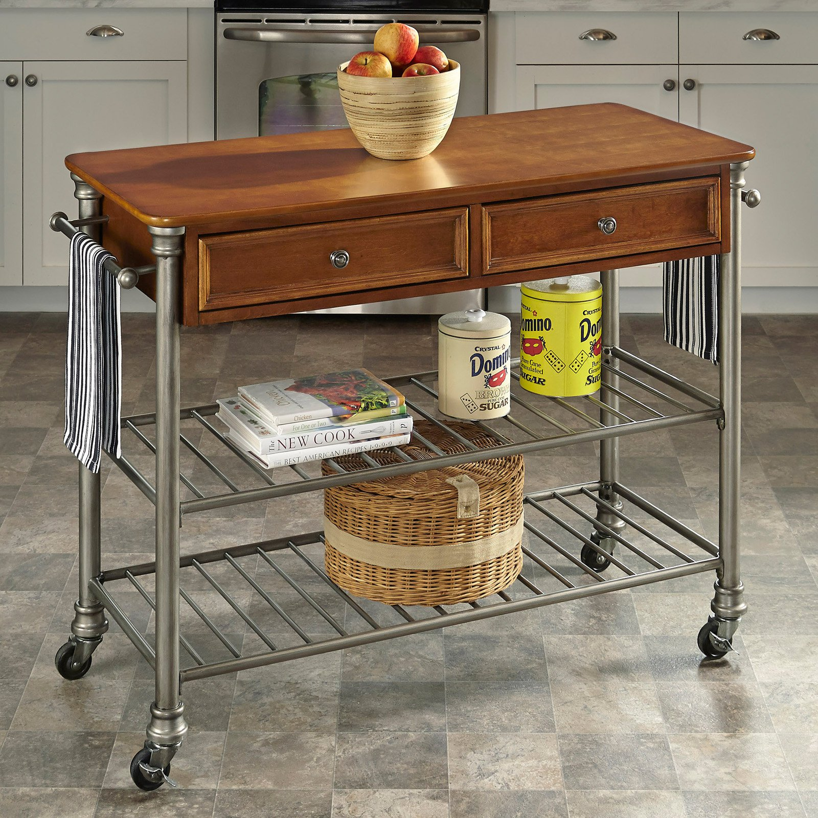 perfect home styles the orleans kitchen cart kitchen islands and