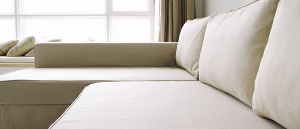 Perfect Ikea Manstad Sofa Bed Custom Linen Slipcover Comfort Wor Medium